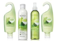 Avon Senses Energizing Green Tea & Verbena 4 Piece Set- Lotion, Gel & Body Spray