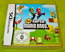 "££ JEU  DS  ORIGINAL   "" NEW  SUPER MARIO BROS  ""   COMPLET  ££"