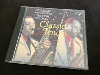 Classic Tenors CD Lester young Coleman Hawkins 1987 Doctor Jazz By Bob Thiele