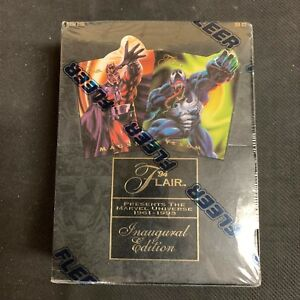 1994 Marvel Flair Annual Inaugural Edition Sealed Box