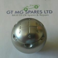 MGTF MGF MARK 2 (New Genuine MG) SILVER ALLOY GEARKNOB