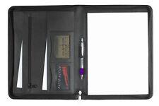 Schreibmappe A4 mit Reißverschluss Seta- Rindnappaleder,  excl. Marke EuroStyle