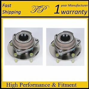 Rear Wheel Hub Bearing Assembly For BUICK LACROSSE 2010-2016 (FWD) PAIR