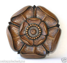 Yorkshire Rose Unique Reproduction Carving Ornament Hand Made Oakapple Designs