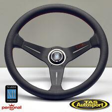 Nardi Steering Wheel DEEP CORN Perforated Leather Dish 350mm 6069.35.2093RS