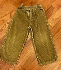 The Childrens Place Cordoroy Boys Pants~Brown~3t~Worn Once~Excellent Condition