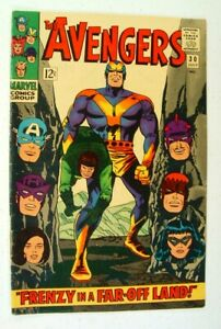 1966 AVENGERS ISSUE #30 COMIC BOOK SUPER NICE BRIGHT 6.5 CONDITION