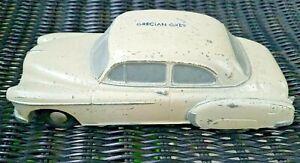 Vintage *Banthrico* 1953-54 Chevrolet Dealer Promo Car Bank Stamped Grecian Grey