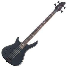 Stagg basse Elect. Fusion 4 cordes Noir Gaucher