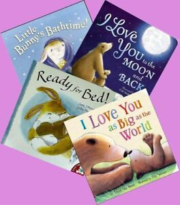 Children's books. Early reading. Set of four. Ideal for ages 2 - 6 years. set 1