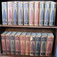 Lexika - Meyers Konversations-Lexikon in 20 Bänden. 6. Aufl. 1904, Jugendstil