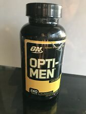 Optimum OPTI-MEN Multi-Vitamin Vitamin D Amino Acids B-Complex 240 tablets