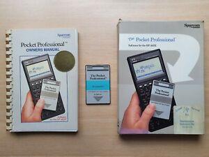 Sparcom Pocket Professional Mathematics Pac für HP 48SX Taschenrechner #672
