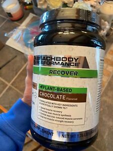 Beachbody Recover vegan chocolate 30 day supply new sealed container exp 10/21