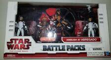 Star Wars The Clone Wars Battle Packs AMBUSH AT ABREGADO Collectible Action