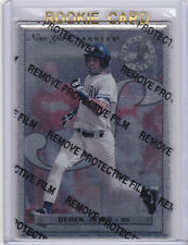DEREK JETER Leaf Steel RARE ROOKIE Yankees INSERT $$ RC New York Baseball Card