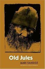 Old Jules (Third Edition) by Mari Sandoz (2005, Paperback)