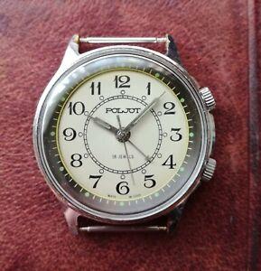 Poljot Alarm USSR Soviet mechanical wrist watch