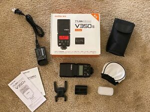 Godox V350S TTL L-ion Flash for Sony - Lightly Used, includes box & accessories