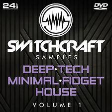 Deep · Tech · HOUSE VOL 1-Studio de 24bit wav / échantillons de production musicale-DVD