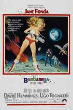 Barbarella Poster 02 A3 Box Canvas Print