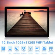 "10.1"" 10+512G WiFi Tablet Android 7.0  Bluetooth Game Computer Dual Camera 3G"