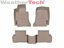 WeatherTech Floor Mats FloorLiner for Mercedes C-Class Sedan 2015-2019 Tan