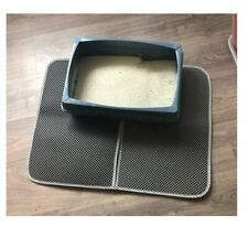 Cat Litter Mat Clumping Fresh Waterproof EVA Double Laye Pad Non-slip Floor Mats