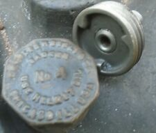 Badger Grease Cup Lubricator No. 4 Hit & Miss Engine 1920s Car Helmit Oil