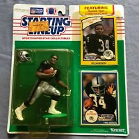 STARTING LINEUP 1990 Bo Jackson Los Angeles Raiders NFL Figure SLU Kenner