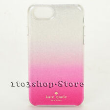 Kate Spade Hard Shell Snap Case Cover for iPhone 7 iPhone 8 (Glitter Ombre Pink)