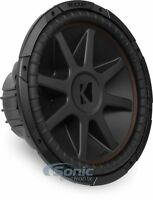 "KICKER 43CVR152 1000W 15"" CompVR Dual 2 Ohm Car Subwoofer Car Audio Sub"