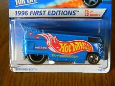 1996 FIRST EDITIONS~PREMIRE~#372~HOT WHEELS~VOLKSWAGEN #6/12~VW DRAG BUS-RARE