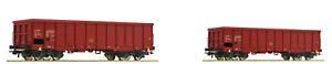 Roco 51332 - 2-teiliges Güterwaggonset der CSD offener Güterwagen Eaos NEU OVP