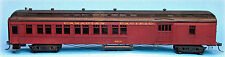 CANADIAN PACIFIC WOOD COMBINE HO Model Railroad Passenger Car Unpaintd Kit SPK71