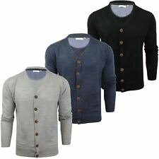 Mens Cardigan Button Front Fashion Jumper by Xact