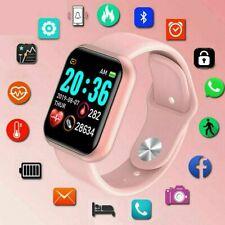 D20 Smart Watch Bluetooth Blood Pressure Fitness Tracker Waterproof Heart Rate M