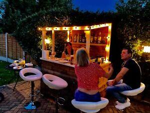 Garden Bar (fresh wood )