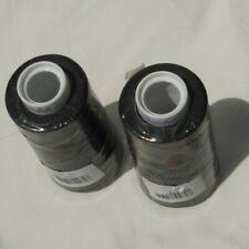 2 Spools Maxi-Lock Serger Thread Black 3000 Yards Each