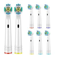 🔥🔥3D PRO White Replacement Toothbrush Heads for Oral B  - 8 Units 🔥🔥