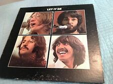 THE BEATLES 'LET IT BE' RARE U.S. LP RED APPLE & G'F SLEEVE - FREE POST AR34001