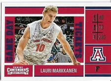 2017-18 CONTENDERS DRAFT GAME DAY #6 LAURI MARKKANEN RC BULLS FREE SHIPPING 🔥🏀