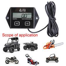 Digital RPM Tach Hour Meter Tachometer Gauge For Motorcycle Dirt Bike 2/4 Stroke