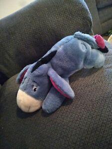 "Disney Store Eeyore Plush Stuffed Animal 14"" Winnie the Pooh Stuffed Animal"