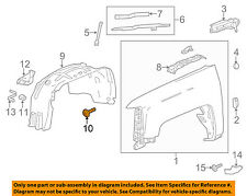 GM OEM-Fender Liner Bolt 11570637