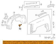 GM OEM-Fender Liner Splash Shield Bolt 11570637