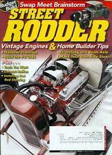 2009 Street Rodder Magazine: Vintage Engines/Home Builder Tips/Steering