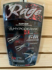 "New Rage Hypodermic Compound NC 100 Gr  2"" + Cut Broadheads Auth/ Dealer R38100"