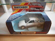 Matchbox Superkings K-100 Ford Sierra XR4i in White in Box