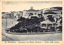 0088) LA MADDALENA (SASSARI)  PANORAMA DA PIAZZA UMBERTO I PALCO DELLA MUSICA.